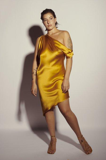 KES Venus Drop Shoulder Dress - Quartz