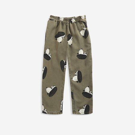 Kids Bobo Choses Doggie Kid's Woven Pant - Dark Green