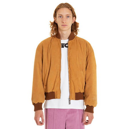GCDS College bomber - Brown