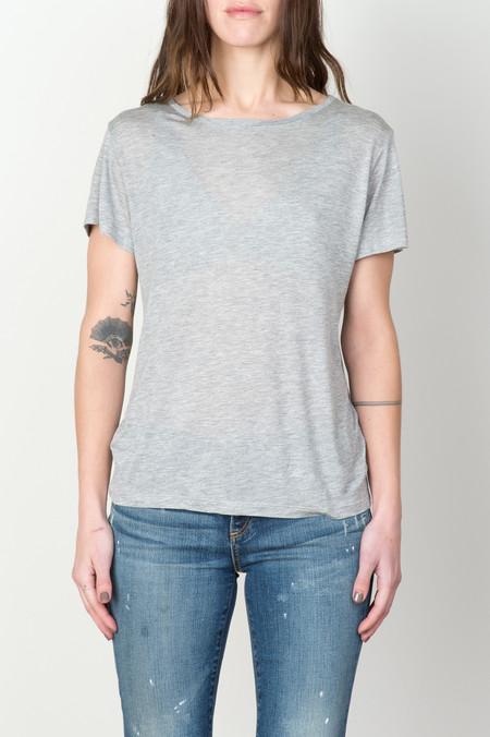 Baserange Tee Shirt In Grey Melange