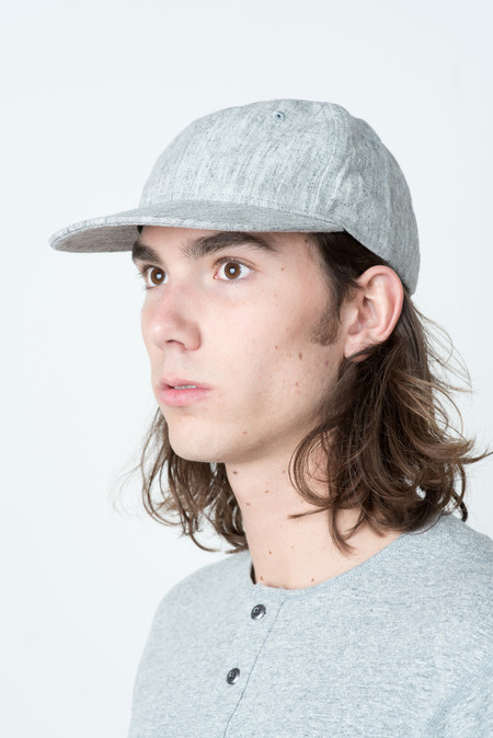 Wings + Horns Woven Linen 6-Panel Hat
