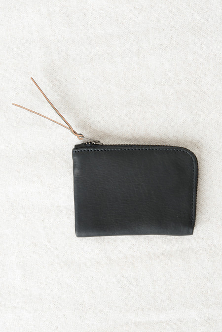 MAKR Zip Slim Wallet In Black