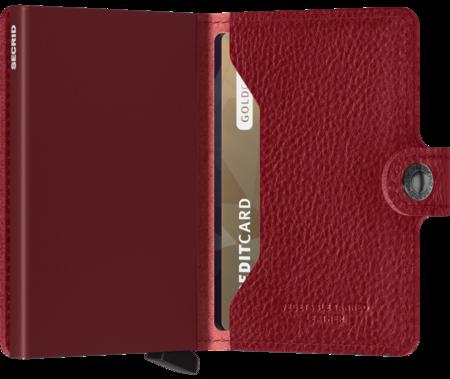 SECRID Mini Wallet - Veg Rosso-Bordeaux