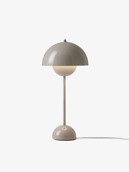 & Tradition Verner Panton Flower Pot Table Lamp - Grey/Beige