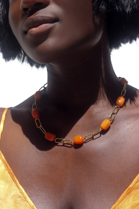 Serendipitous Project Clementine Necklace