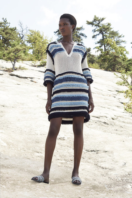 ELEVEN SIX YIAZA SWEATER DRESS