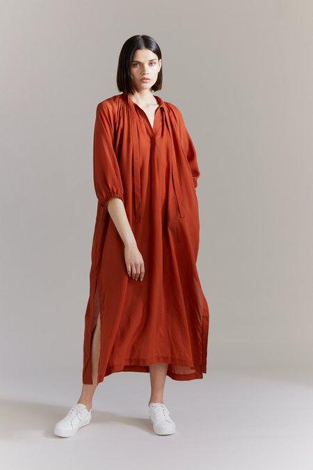 Laing Celeste Popover Dress - Burnt Orange