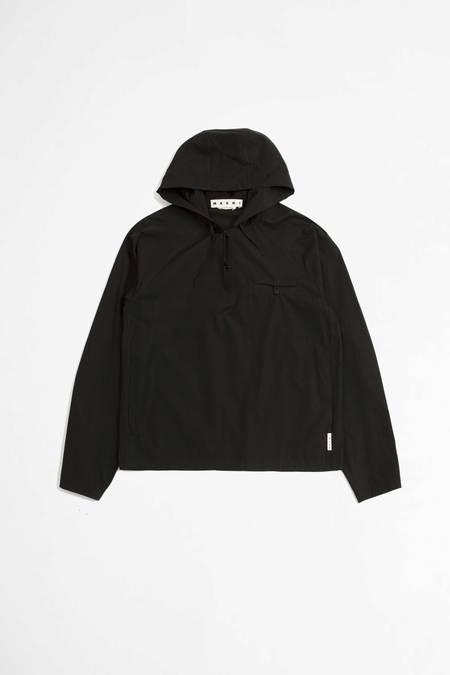 Marni Hooded shirt - black