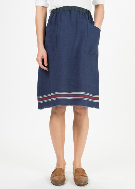 Yoshi Kondo Linen Kitchen Skirt