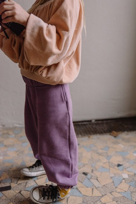 Kids We Are Kids Max Kid's Oversized Jogger - Mulberry