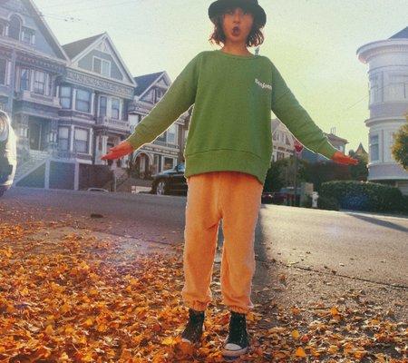 Kids We Are Kids Tony Kid's Sweatshirt - Mint Green