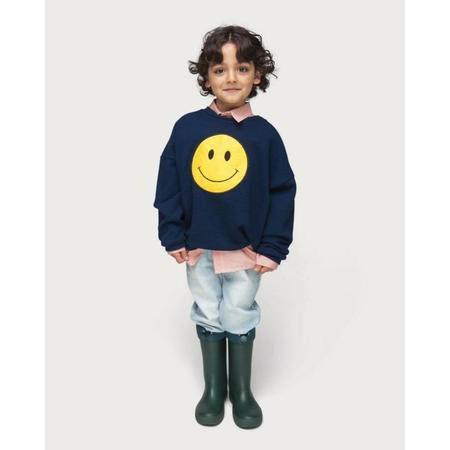 KIDS maed for mini winky sweatshirt - BLUE