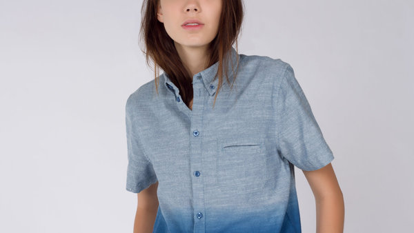 Native Youth Surfline Chambray Shirt