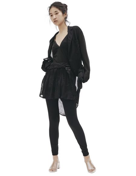 Ann Demeulemeester Cotton and silk shorts