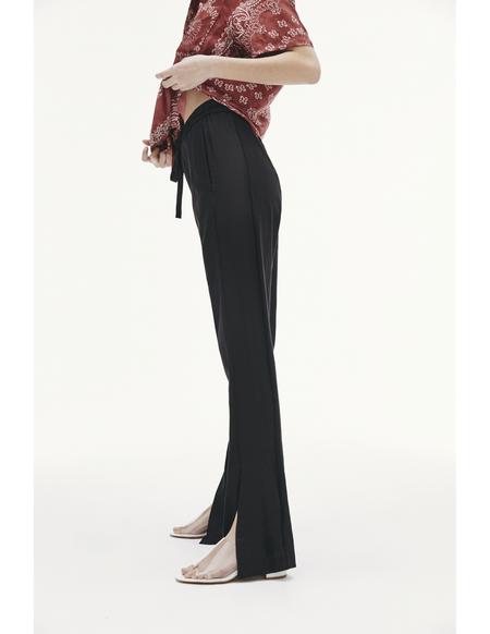 Ann Demeulemeester Black Striped Elmer Trousers