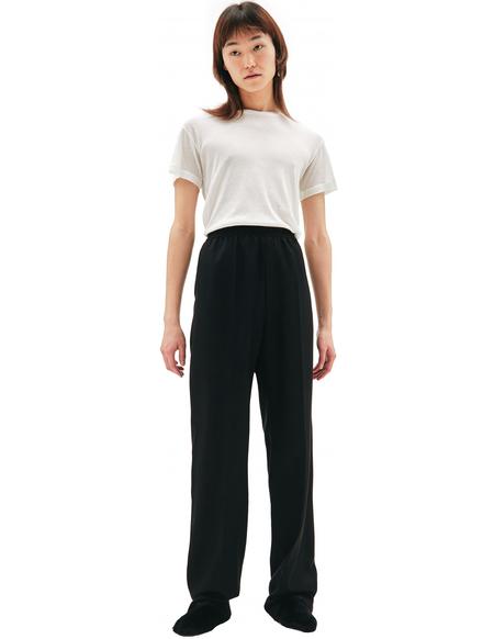 Balenciaga Black Elastic Waist Trousers