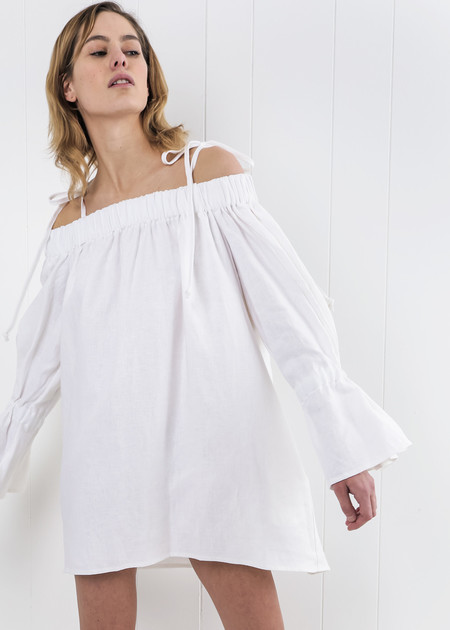 Eliza Faulkner White Lola Dress