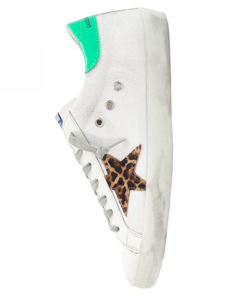 Golden Goose Canvas Superstar Sneakers