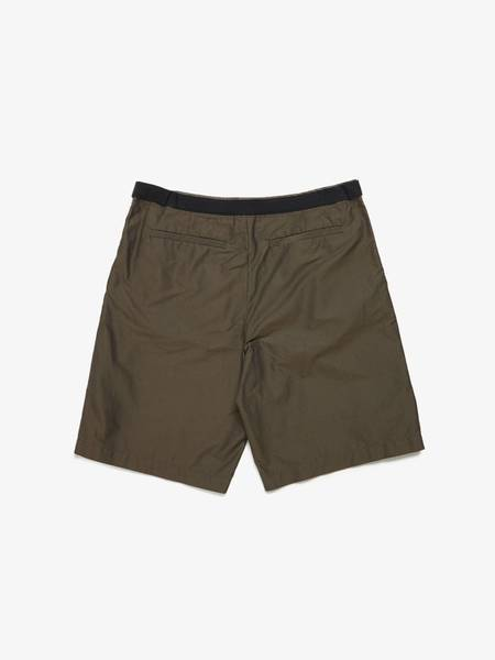 Dries Van Noten Belted With Glitter Part Shorts  - Brown