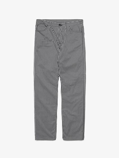 PRE-LOVED Comme Des Garcons Homme Plus Striped Pants - BLACK/WHITE