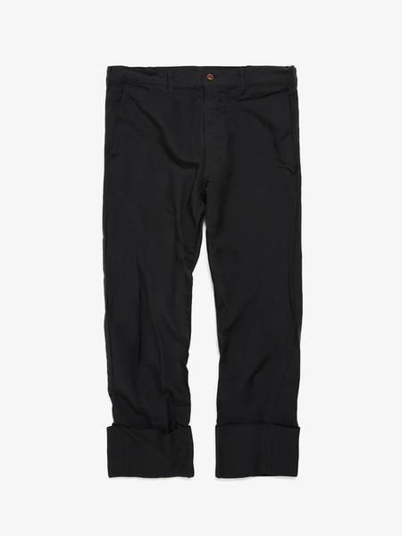 Comme Des Garcons Homme Plus Polyester Culotte Trousers - Black