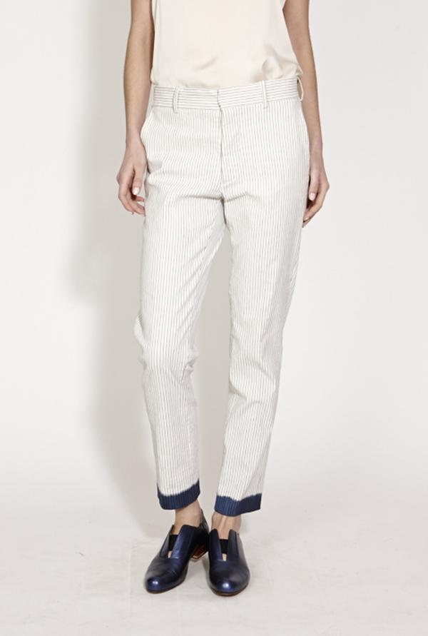 TiA CiBANi Inked slim fit boy trousers