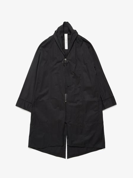 [Pre-Loved] Damir Doma Male Black Cotton Light Coat-Black