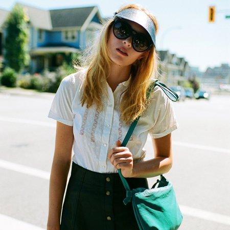 Erin Templeton Visor - Black