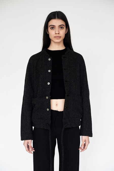 ZED Wool Cropped Catch All Jacket