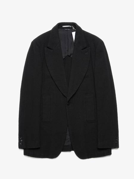 [Pre-Loved]Comme Des Garcons Homme Plus Male Peak Collared One Buttoned Loose Fabric Blazer