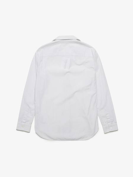 [Pre -Loved] Maison Margiela Striped Cotton Shirt - White