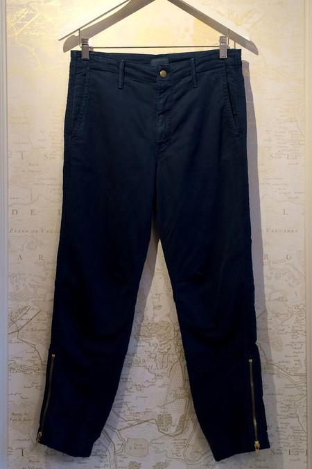 Mother Denim 'The Misfit' Crop Pant with Zipper