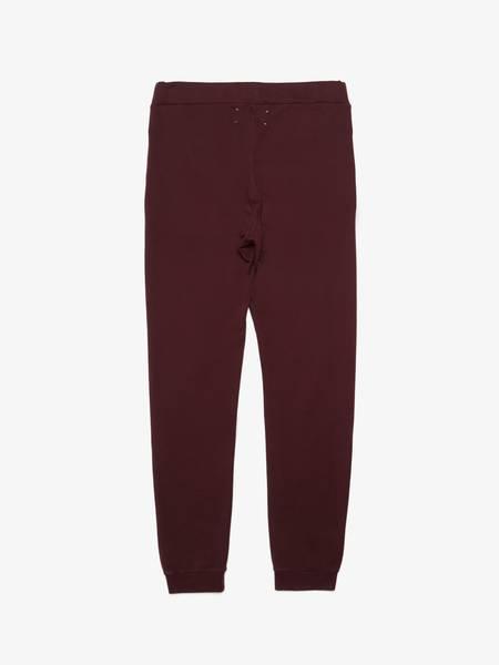 Pre-Loved Maison Margiela Bordeaux Cotton Sweatpants