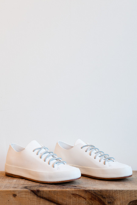 FEIT Hand Sewn Low Sneaker in White
