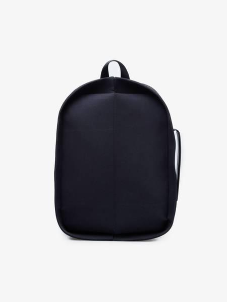 [Pre-Loved] Issey Miyake Oval Nylon Backpack - Black