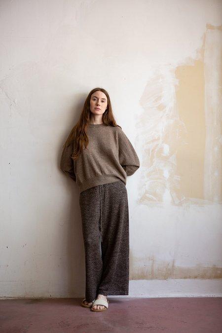 Lauren Manoogian Facil Pant - Blackened Flax