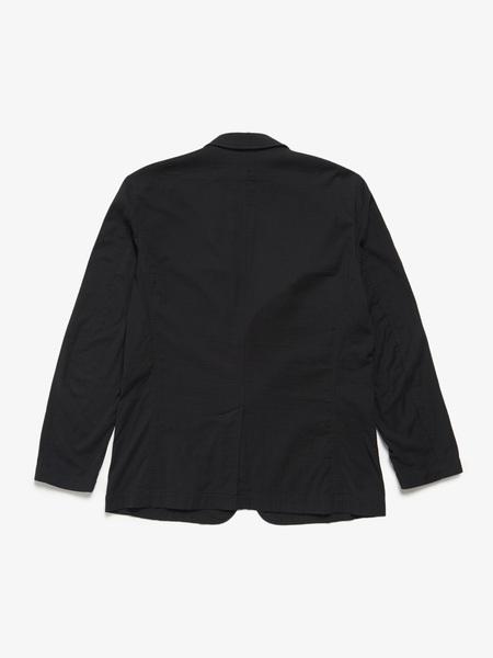 [Pre-Loved] Issey Miyake Cotton Soft Jacket - Black