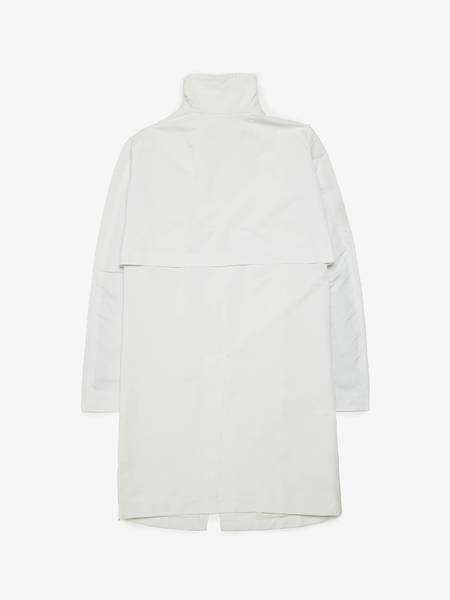 Rick Owens M SS09 Strutter Light White Tubeway Coat
