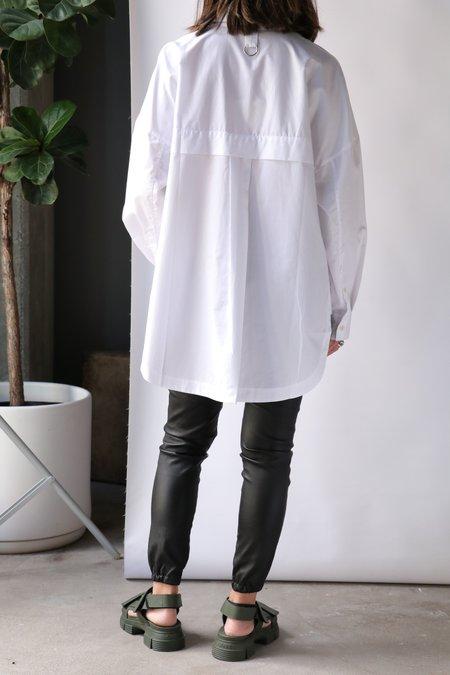 Tibi Classic Shirting Oversized shirt - White
