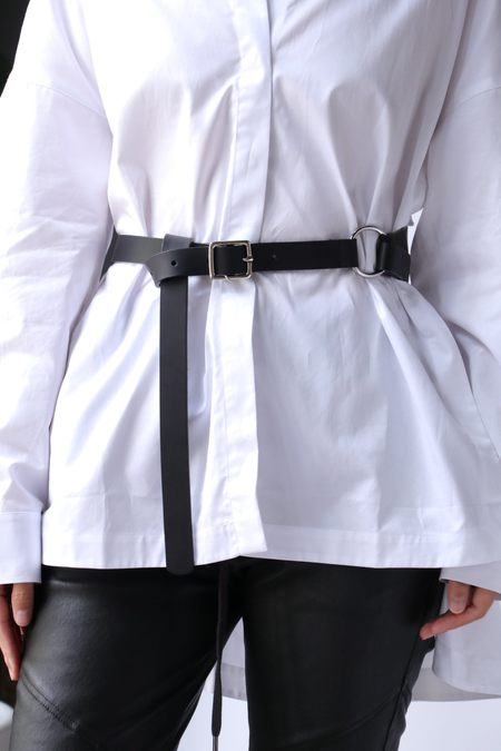 Tibi Harness Belt - Black