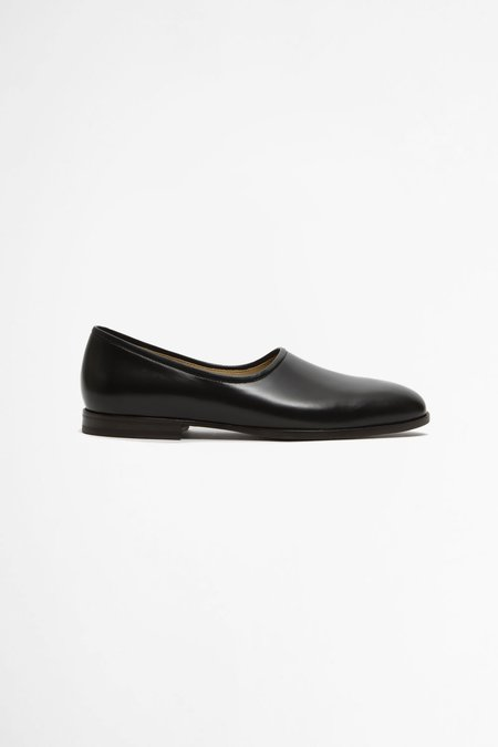 Lemaire Soft slippers - black
