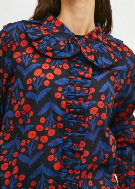 Compañia Fantastica Blouse - Poppy Print