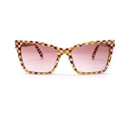 Machete Sunglasses - Tortoise Checker