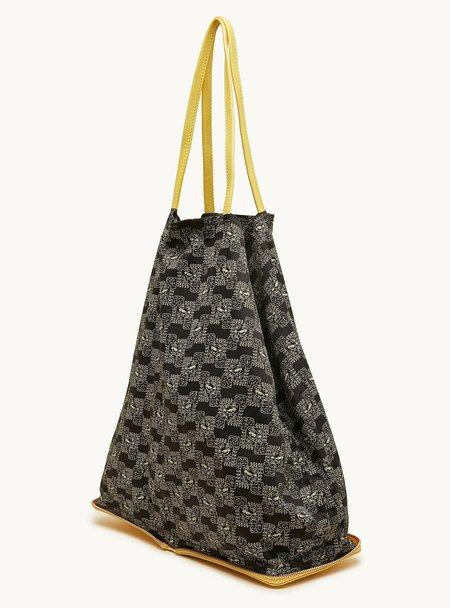 PETI Boutique Cotton Leather tote bag