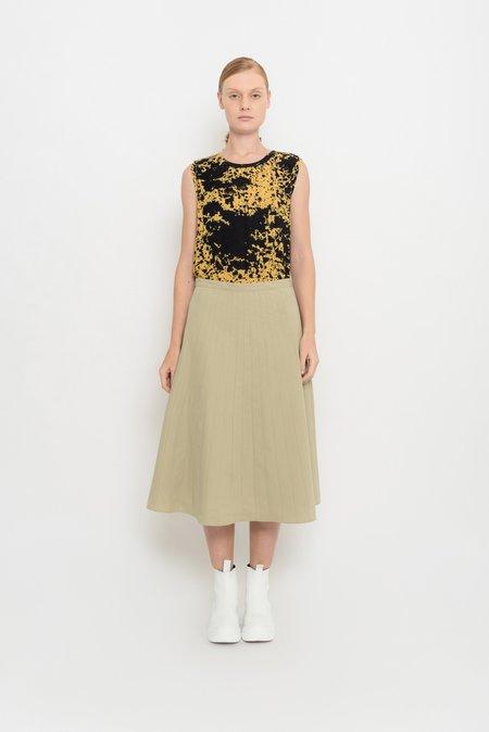 UMA Raquel Davidowicz Evase Skirt With Cutouts - Marisco