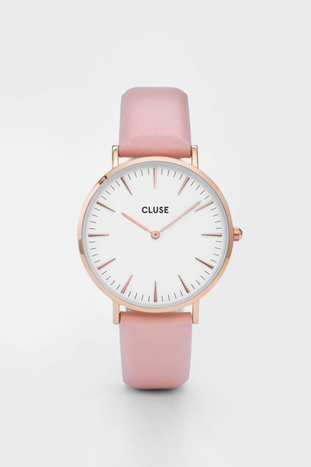 CLUSE WATCH La Boheme Rose Gold White/Pink