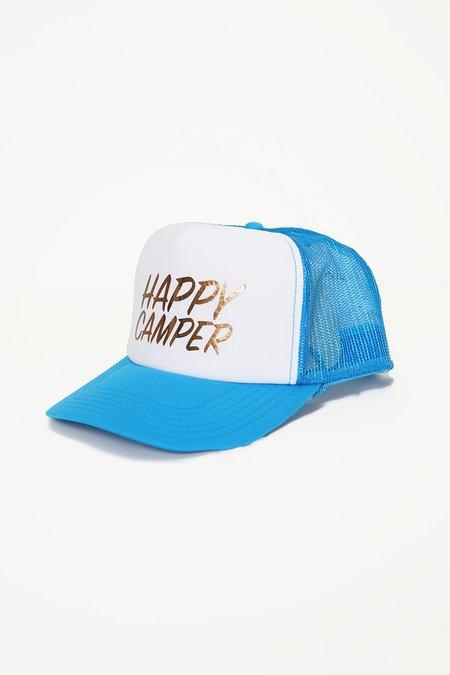 Aquarius Cocktail GOOD BUDDY happy camper caps - blue