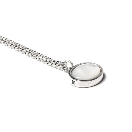 Maple Tubby Pendant Chain - Silver