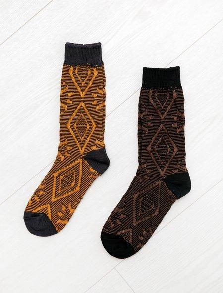 Y's by Yohji Yamamoto Nordic Pattern Socks