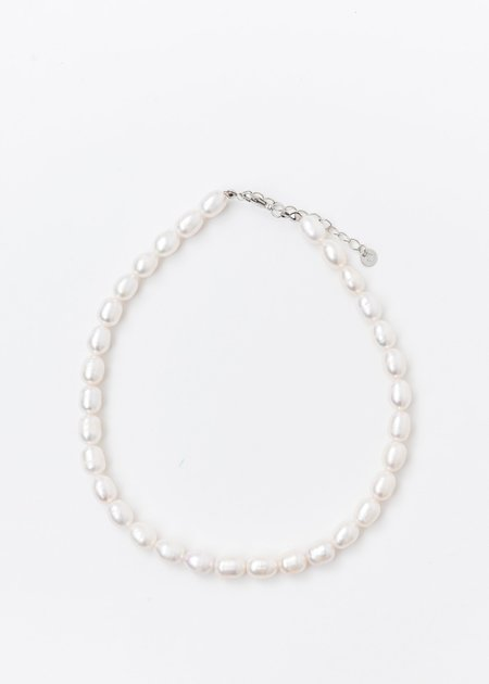 DEPARTMENT MM Pearl Necklaces - White/Silver